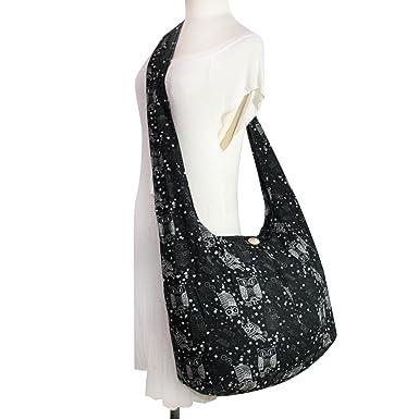 Amazon.com   Hippie Hobo Boho Owl Cute Crossbody Bohemian Handbags ...