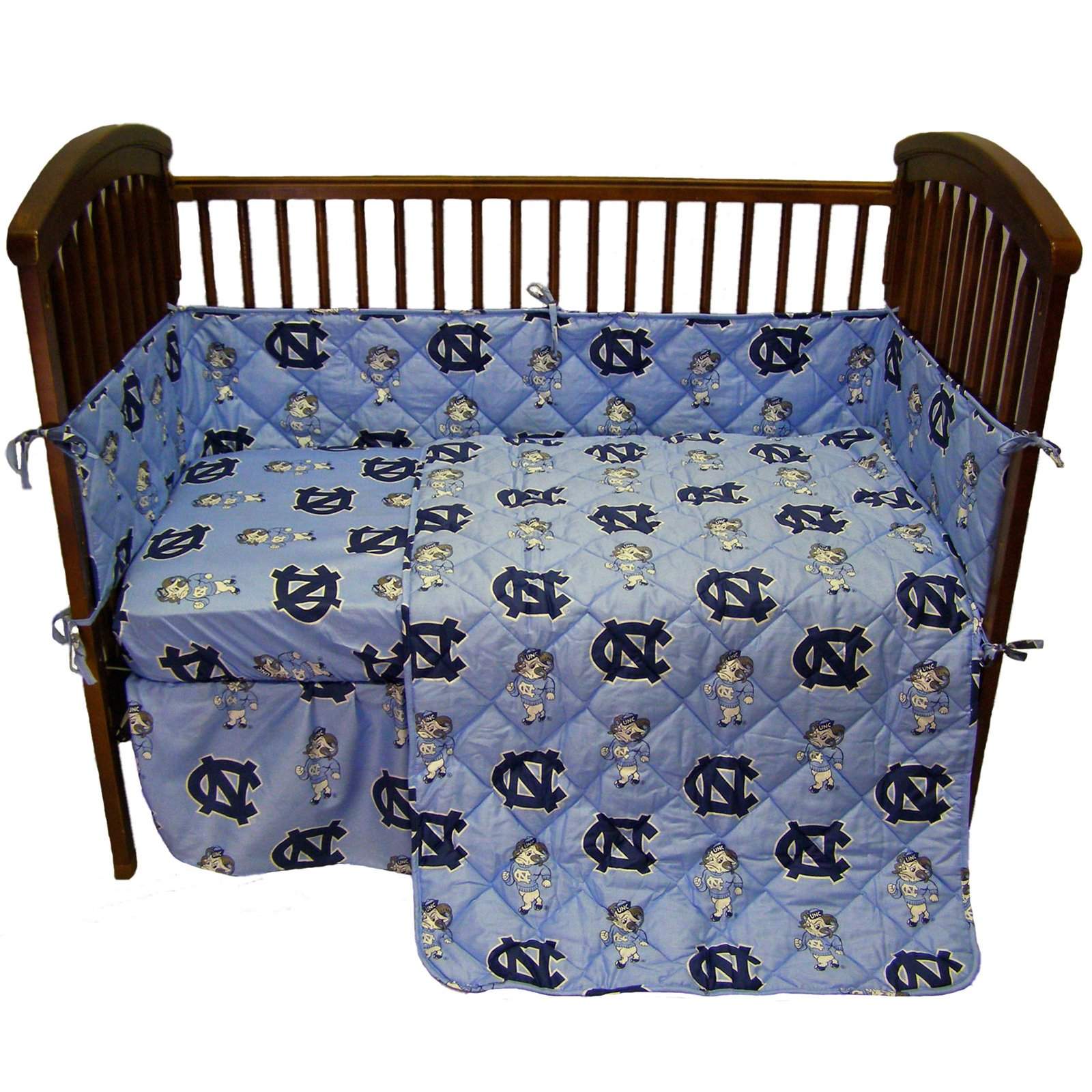 College Covers International North Carolina Tar Heels 5 Piece Baby Crib Set by College Covers