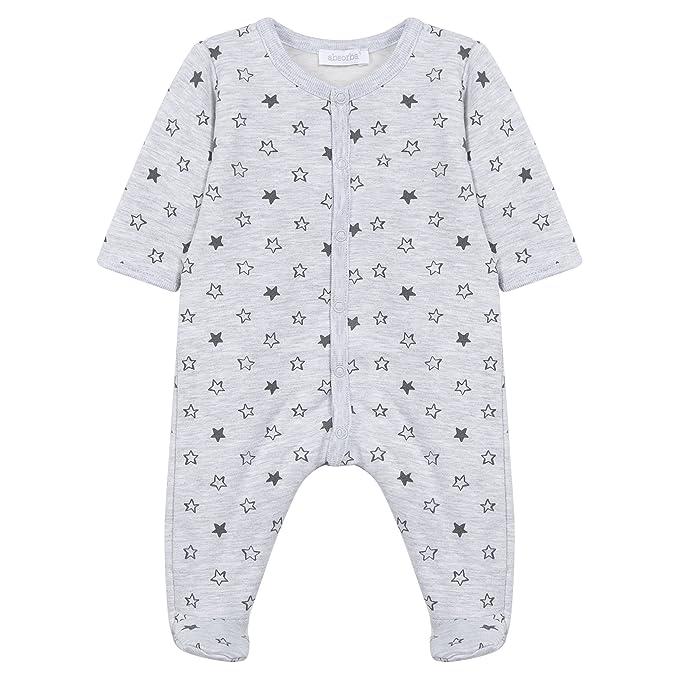 Absorba Dors-Bien, Pelele Unisex bebé, Grau (Gris Chiné 24) 9