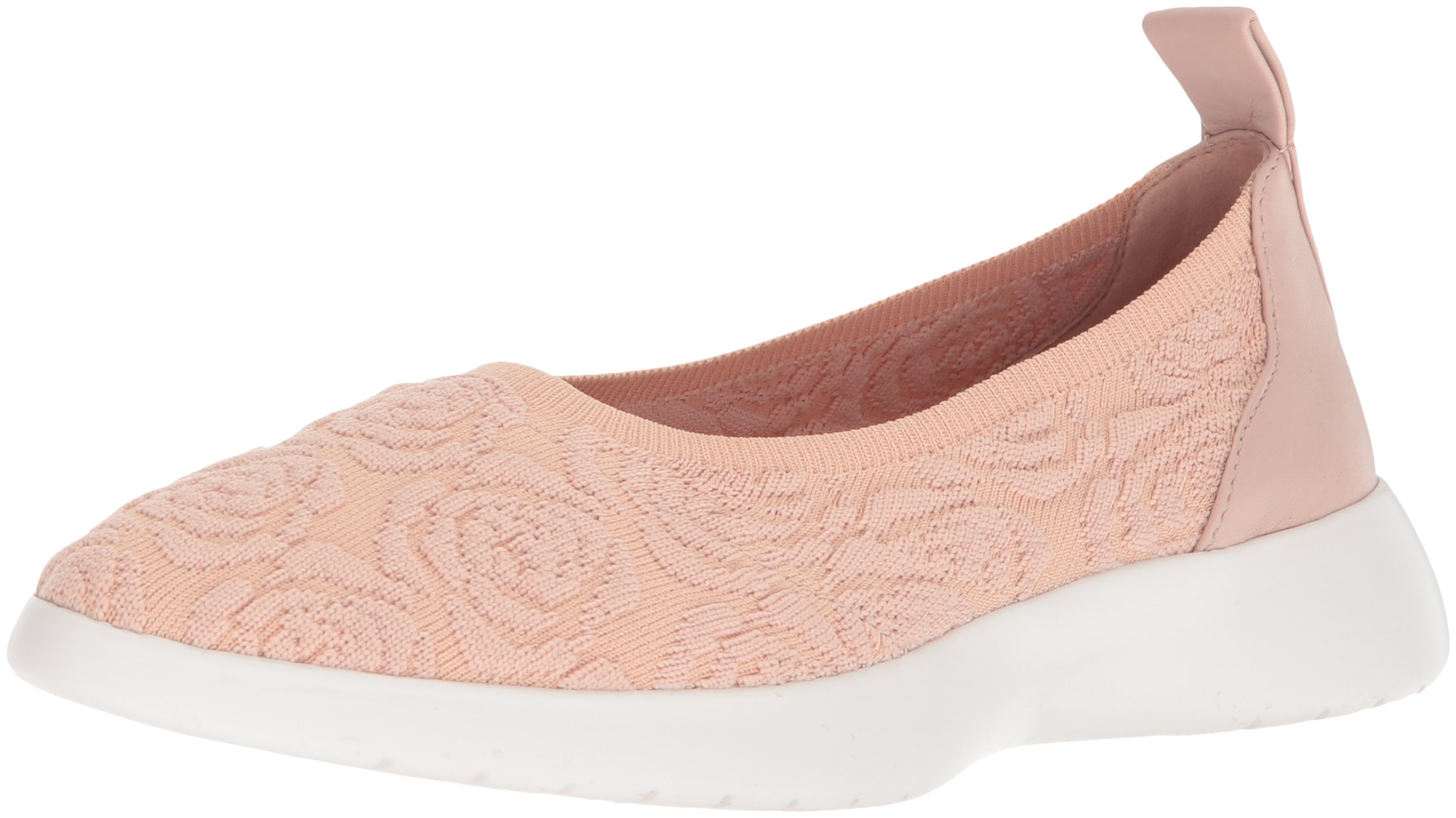 Taryn Rose Women's Daisy Knit Sneaker, Blush, 6.5 M M US