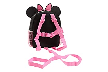 ced2dc5698 Amazon.com   Disney Minnie Mini Backpack with Safety Harness Straps for  Toddlers with 3D Ears   Baby