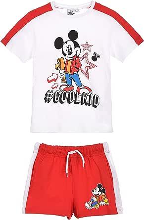 Mickey Mouse Niños Camiseta y Short