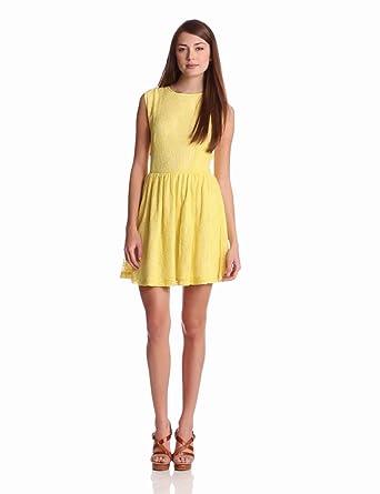 Sam & Lavi Women's Trina Dress, Sunshine, X-Small