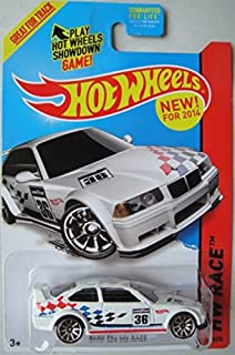 2014 hot wheels hw race bmw e36 m3 - Rare Hot Wheels Cars 2013
