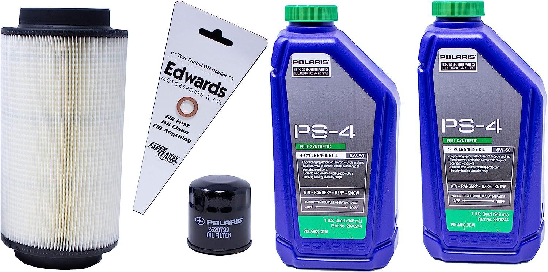 Amazon Com 2014 2015 Sportsman 570 Efi Genuine Polaris Oil Change And Air Filter Kit Automotive