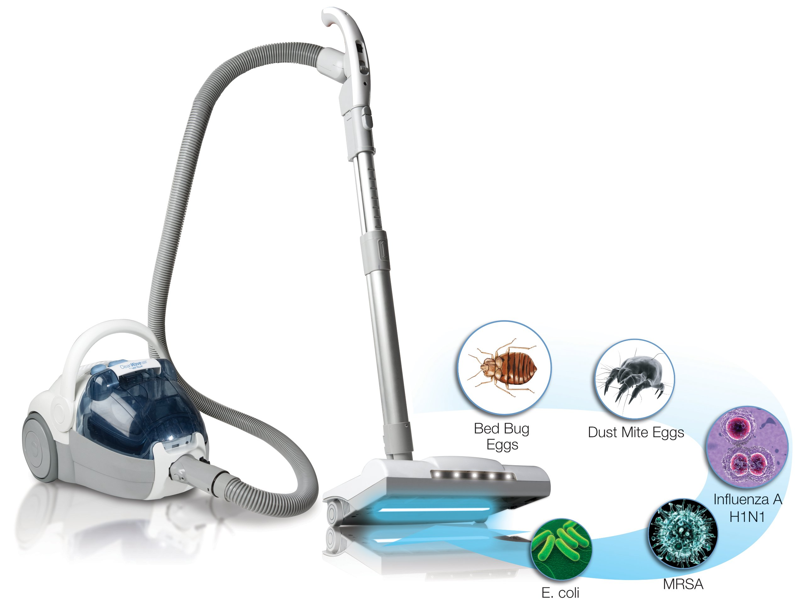 Verilux Cleanwave Sanitizing Bagless Vacuum