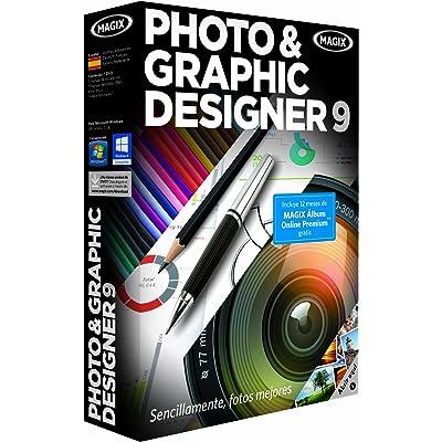 MAGIX Photo & Graphic Designer 9 - Software De Edición Fotográfica