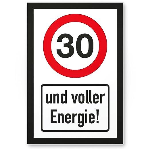 DankeDir!. 30 años - Letrero Lleno de energía, plástico ...