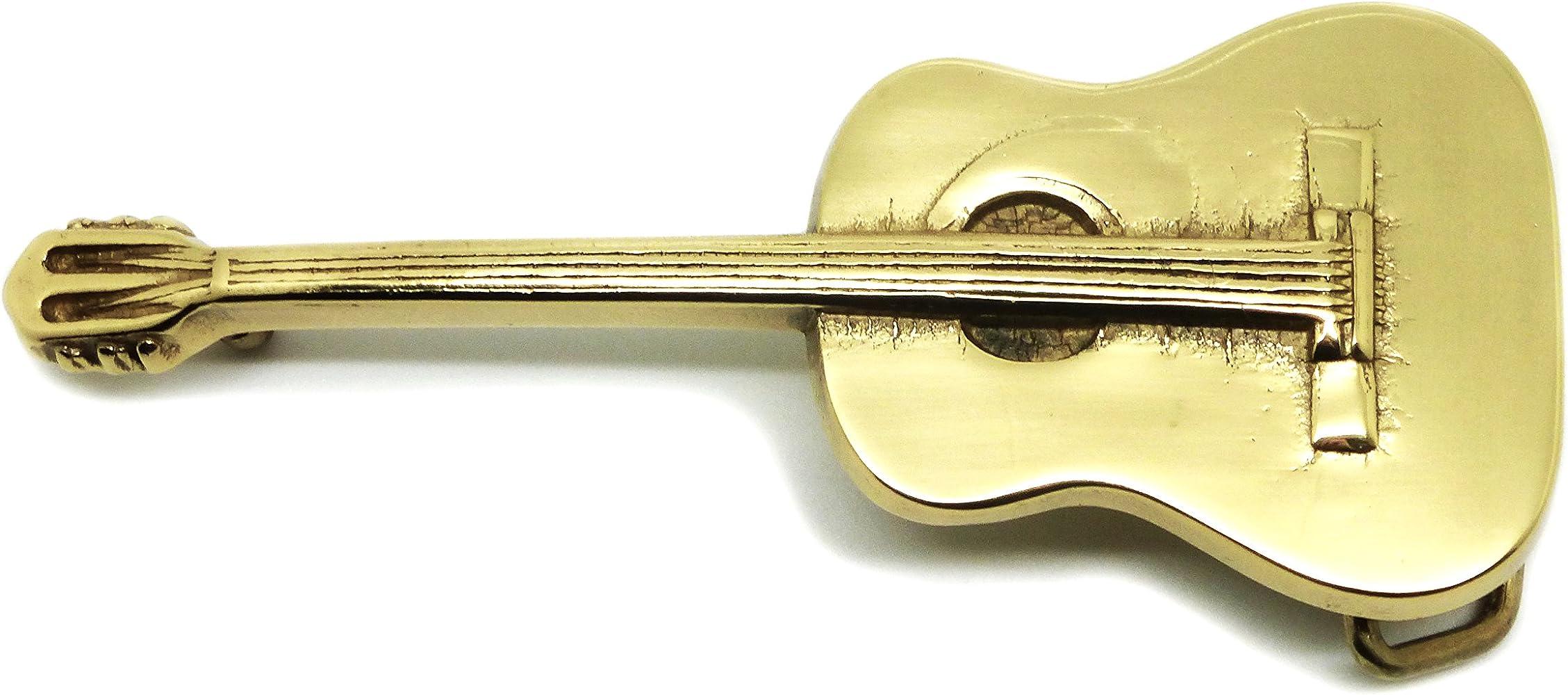 Guitarra Acústica Hebilla de Cinturón - Música Temática de Latón ...