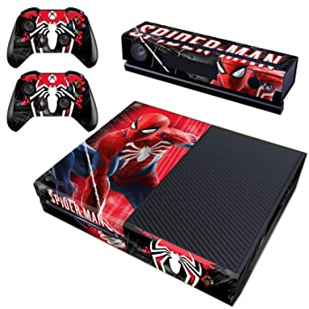 Video Games & Consoles Spider-man Microsoft Xbox One X Console Controller Skin Cover Sticker Decal Video Game Accessories
