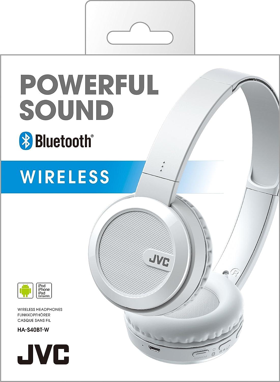 Jvc - Auriculares de diadema ha-s40bt con bluetooth: Amazon.es: Electrónica