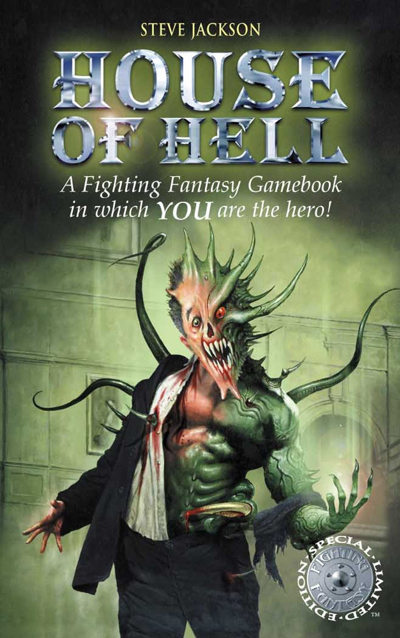 House of Hell (Fighting Fantasy) pdf