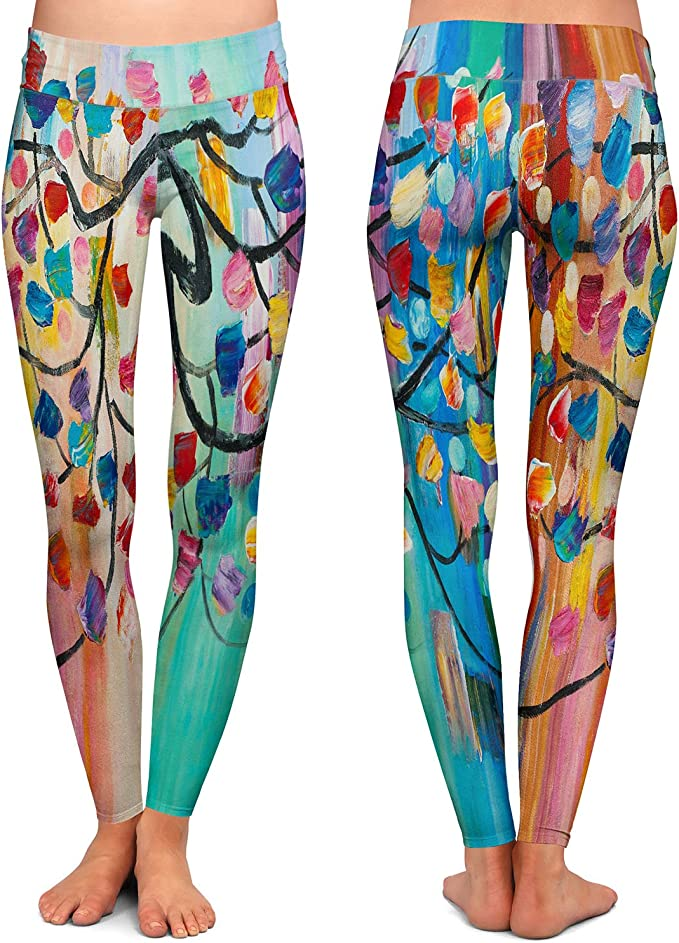 Indistar Big Girls Cotton Full Ankle Length Solid Leggings -Multiple Colors-5-6 Years Pack of 3