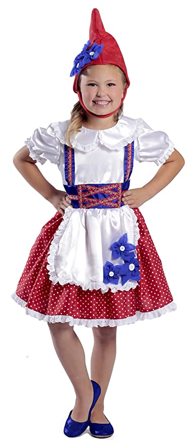 Princess Paradise Girl Garden Gnome Costume