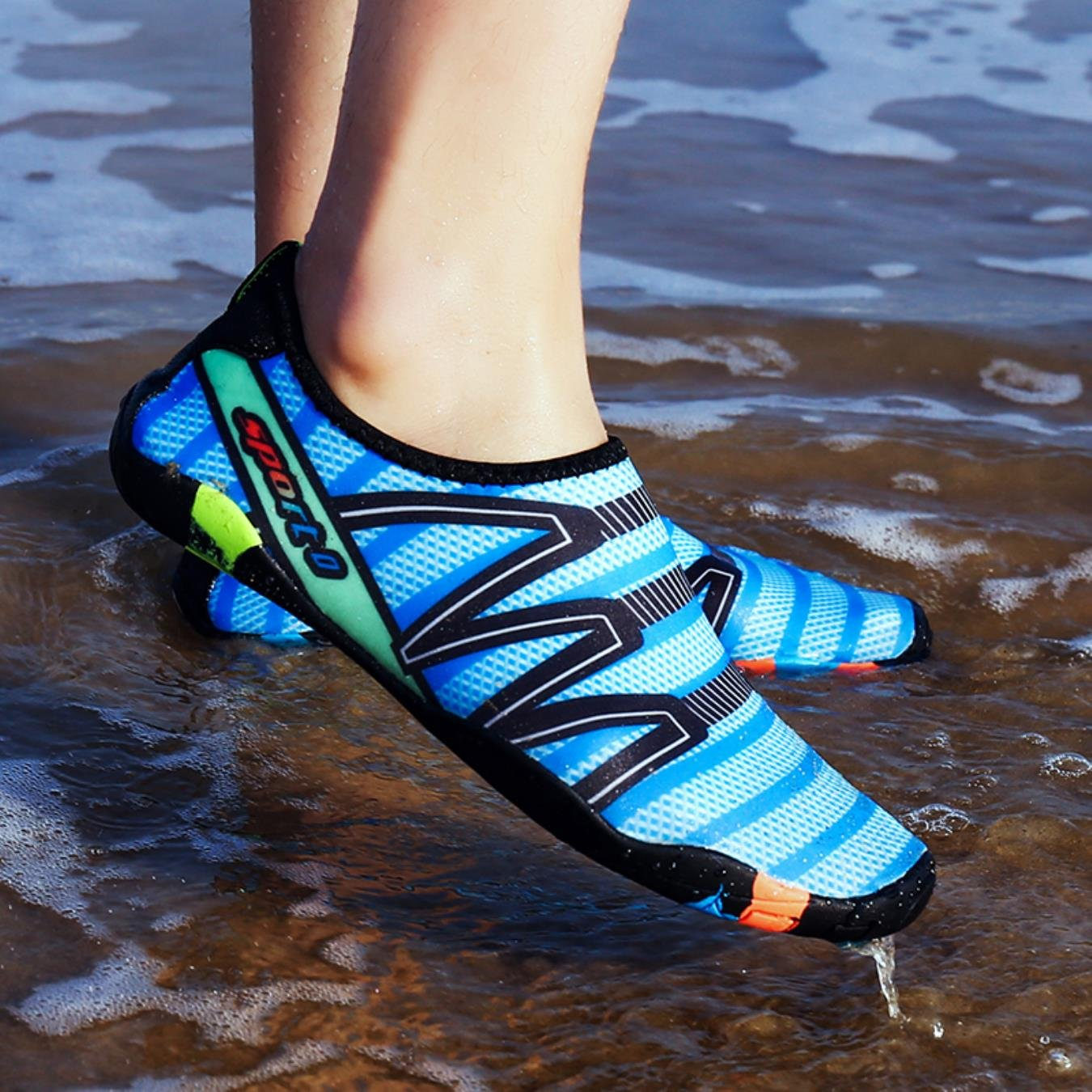 Hot Men Outdoor Breathable Sneakers Seaside Summer Women Balance Beach Water Swimming Shoes Comfortable Adult Shoes