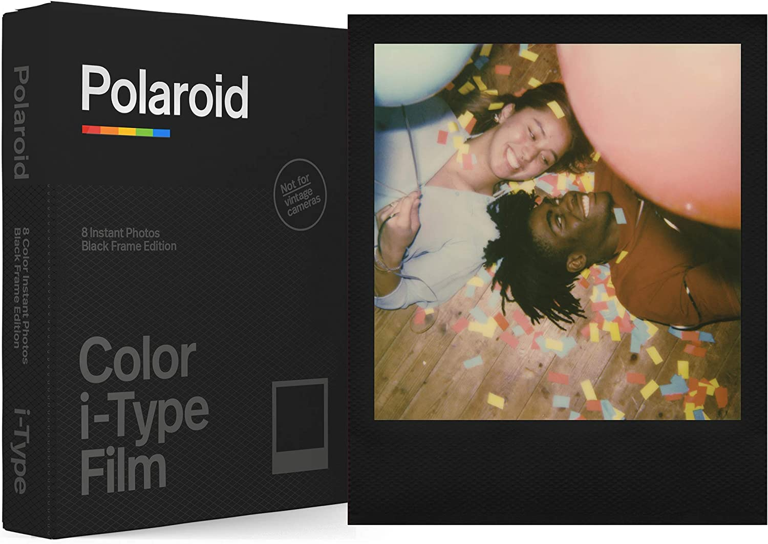 Amazon Com Polaroid Originals Color Film For I Type Black Frame Edition 6019 Camera Photo #frame #polaroid #camera #photo #полароид #рамка #рамка камера #рамка квадратная. polaroid originals color film for i type black frame edition 6019