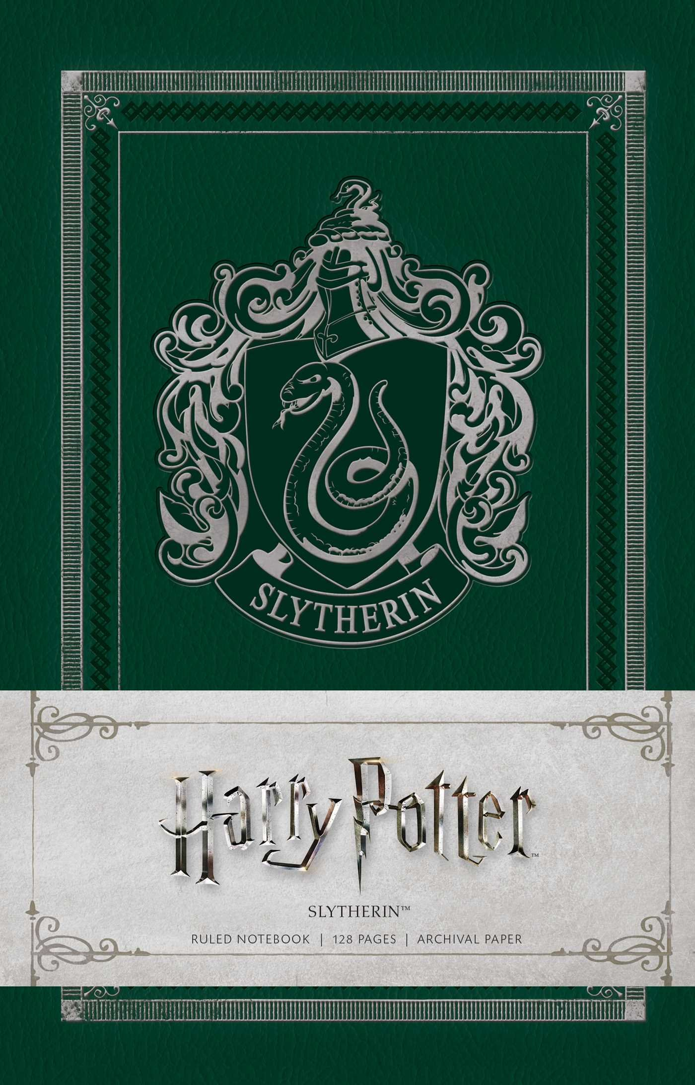 Harry Potter: Slytherin Ruled Notebook: Amazon.es: Insight ...