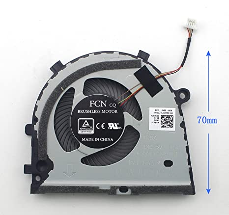 WishingDeals Laptop Cooling Fan for Dell inspiron Game G3