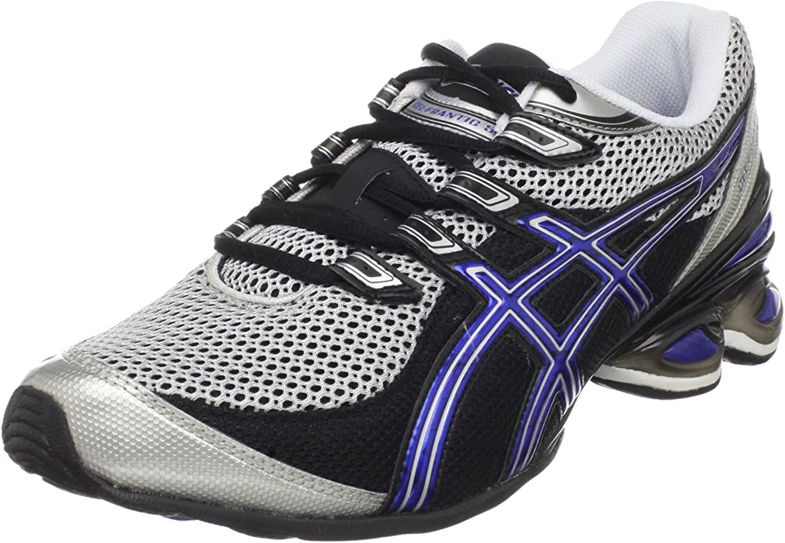 7743baa659b Amazon.com | ASICS Men's GEL-Frantic 5 Running Shoe, Black/Royal ...