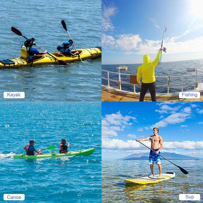 FIRINER - Juego de 2 Correas para Kayak con mosquetón en Forma de ...