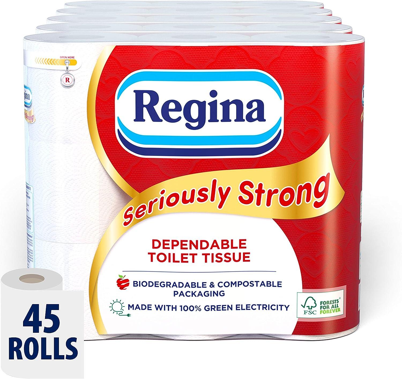 Regina Seriously Strong - Papel higiénico: Amazon.es: Salud y ...