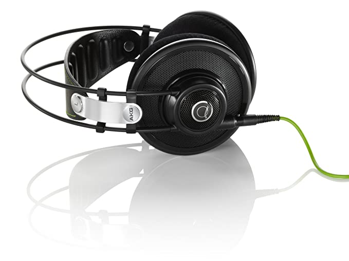 ce2cdafbe1d Amazon.com: AKG Q 701 Quincy Jones Signature Reference-Class Premium  Headphones - Black: Home Audio & Theater
