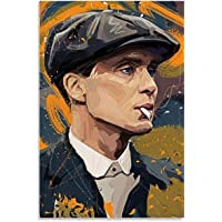 """Canvas Wall Art 23.6""""x35.4""""(60x90cm) Movie Peaky Blinders Tommy Shelby Decorative Living Room Bedroom NO FRAME"""