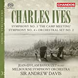 Ives:Orchestral Works Vol 3 [Jean-Efflam Bavouzet; Melbourne Symphony Orchestra; Sir Andrew Davis] [Chandos: CHSA 5174]