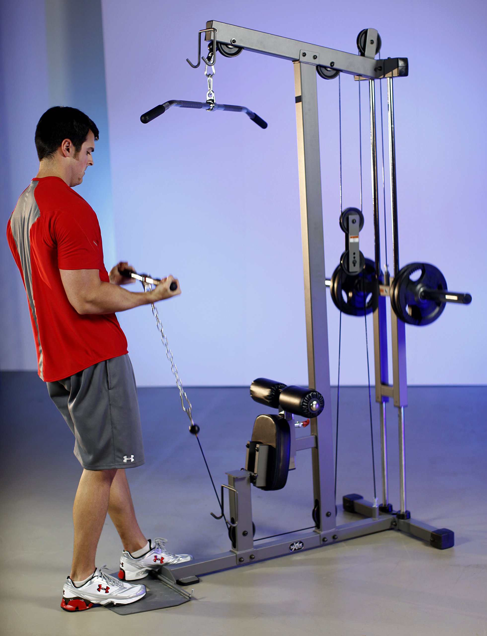 XMark  Lat Pulldown and Low Row Cable Machine XM-7618 by XMark Fitness (Image #3)