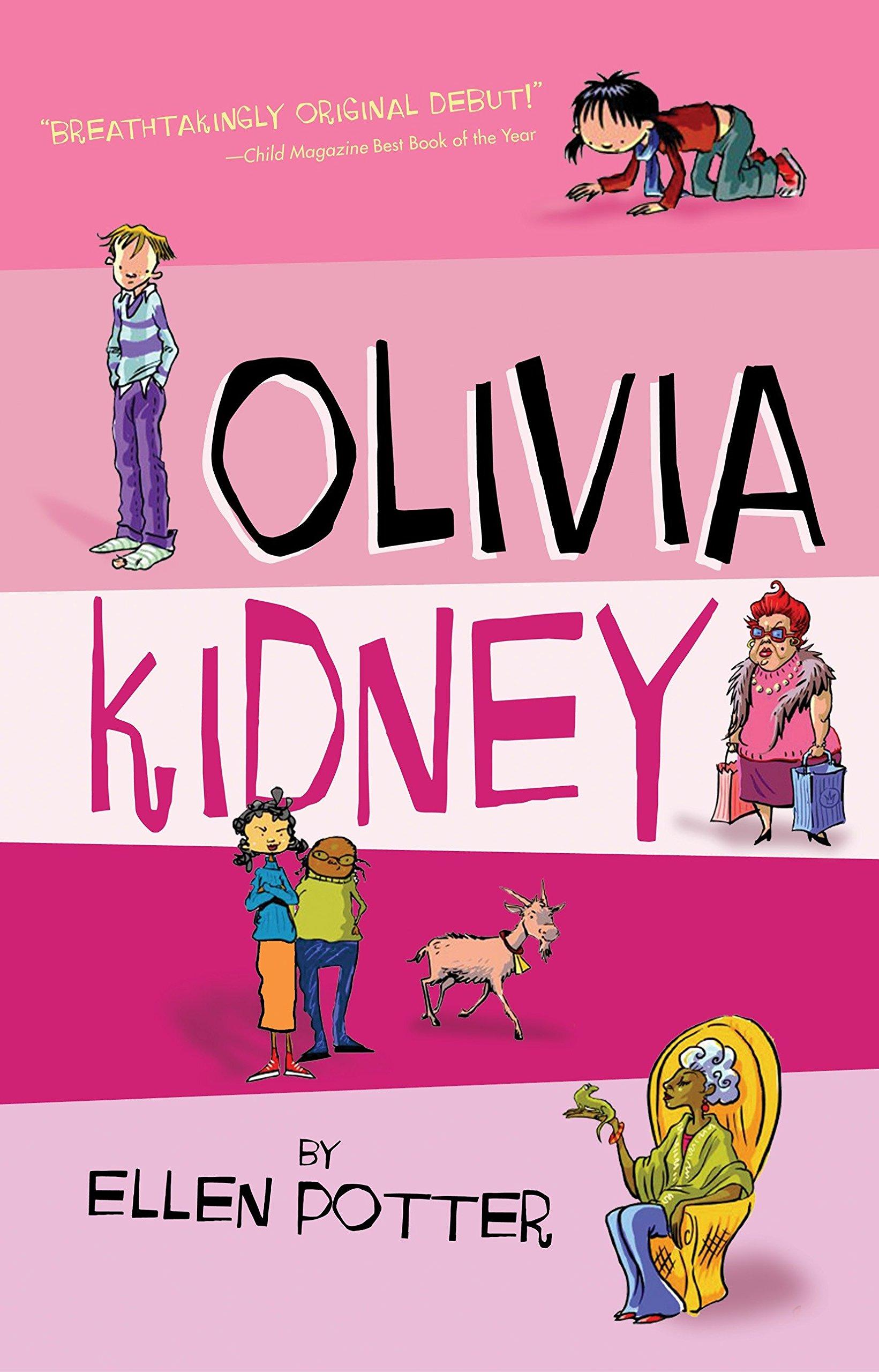 Olivia Kidney By Ellen Potter