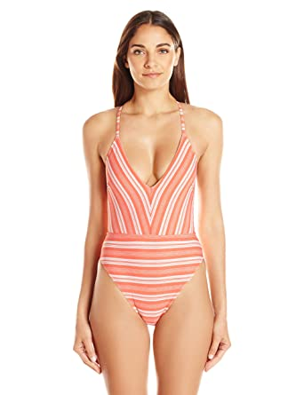 a91e81c406 MINKPINK Women's Haiti One-Piece Bikini Swimsuit at Amazon Women's ...