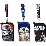 Disney Star Wars Lanyard ID Holder Cute Design Set of 3