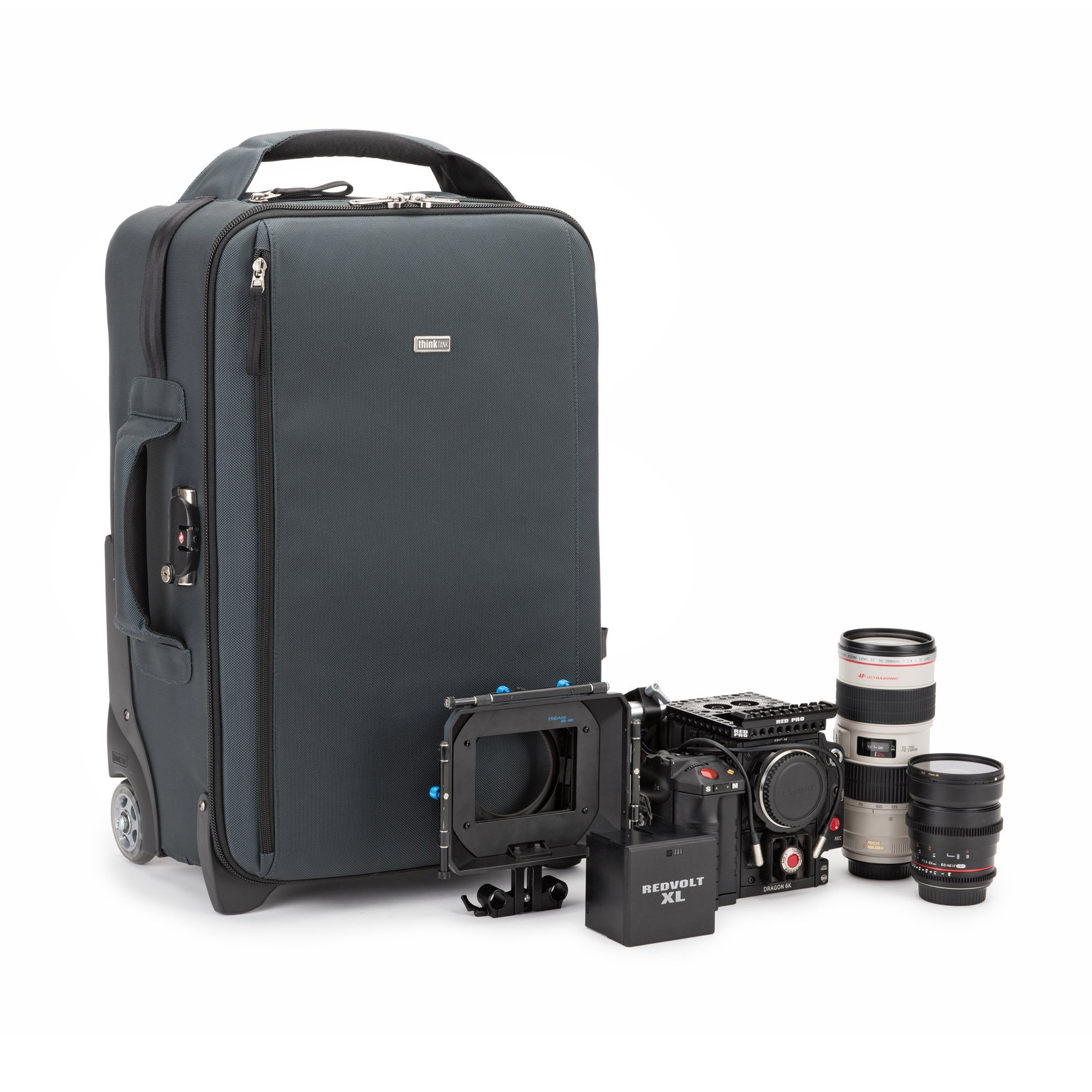 Think Tank Photo Video Transport 20 Carry-On Case (Pacific Slate) by Think Tank (Image #2)
