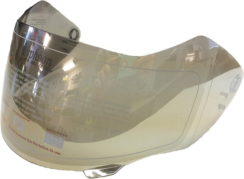 Clear Typhoon Helmets Replacement Visors Shields G339 Adult Modular Helmet