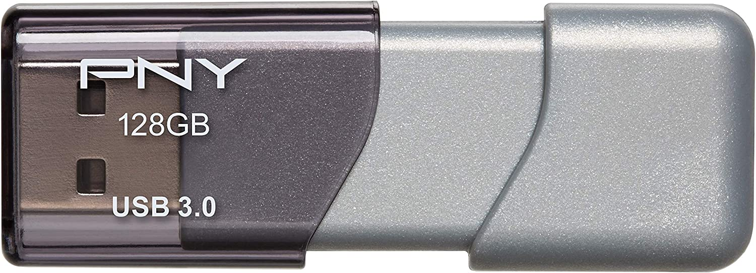 PNY 128GB Turbo Attaché 3 USB 3.0 Flash Drive - (P-FD128TBOP-GE)