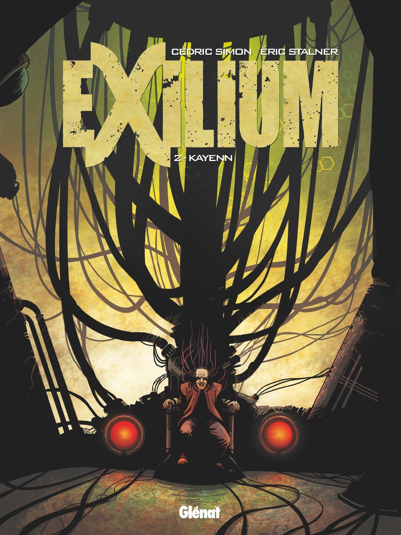 Exilium - Tome 02: Kayenn Album – 29 août 2018 Cédric Simon Glénat BD 2344022902 Bandes dessinées de genre