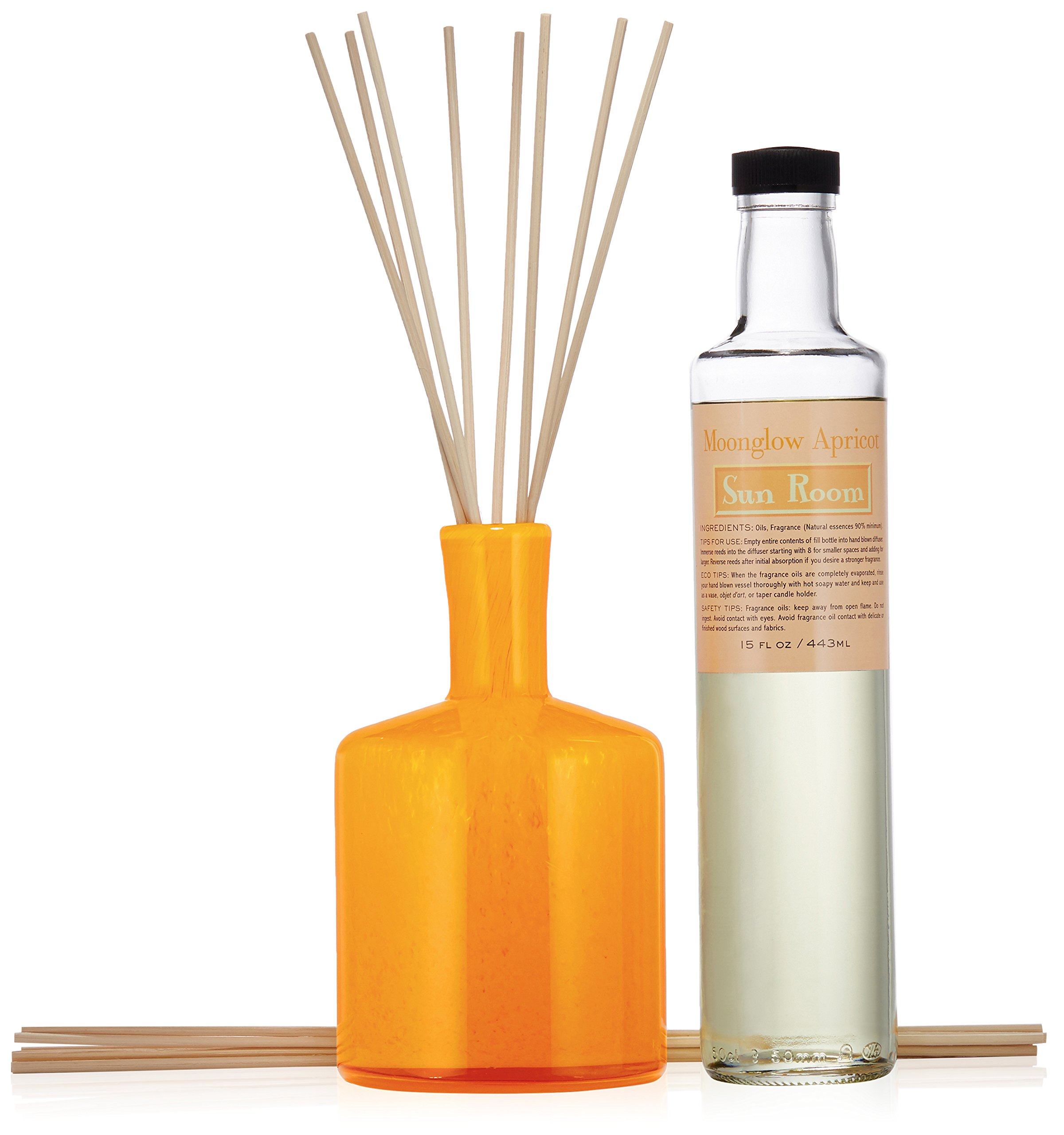 LAFCO House & Home Diffuser, Sun Room Moonglow Apricot, 15 Fl Oz