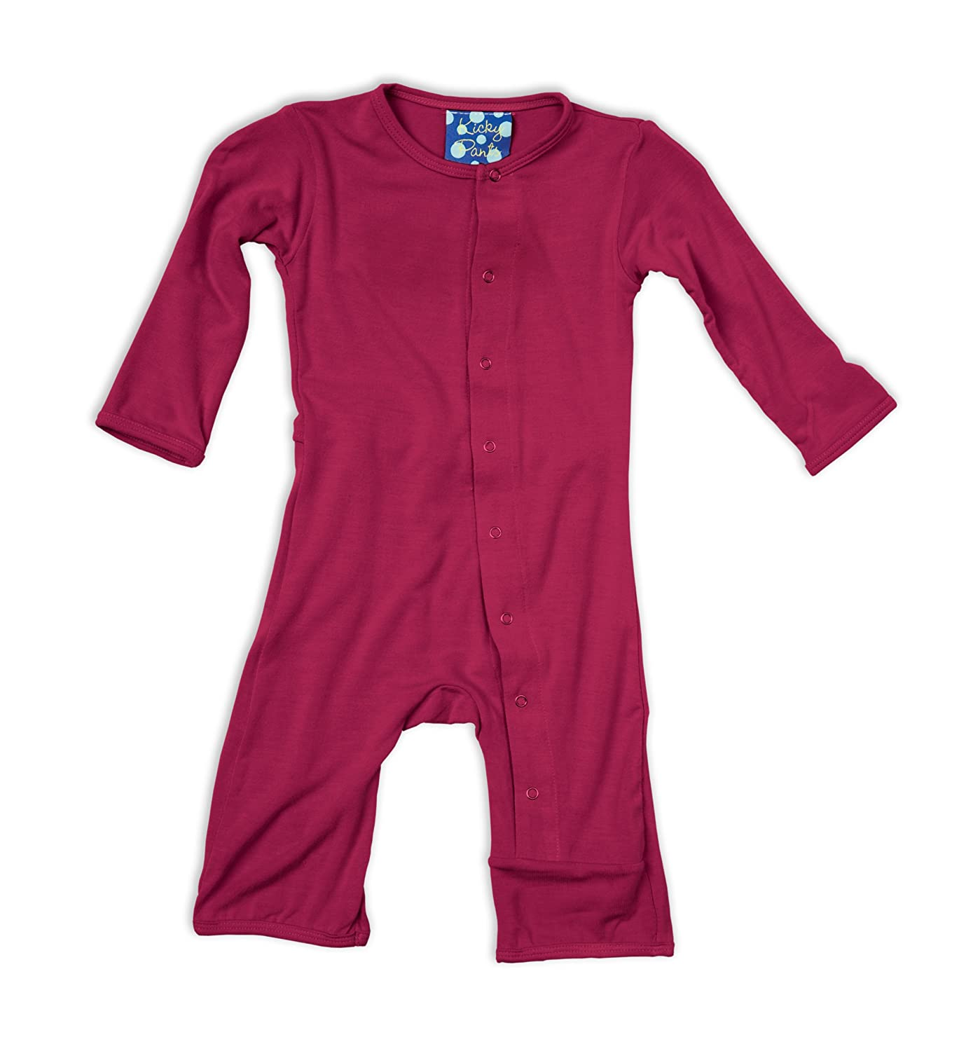 KicKee Pants Coverall, Orchid KicKeePants PRd-KPCA101-ONPARENT