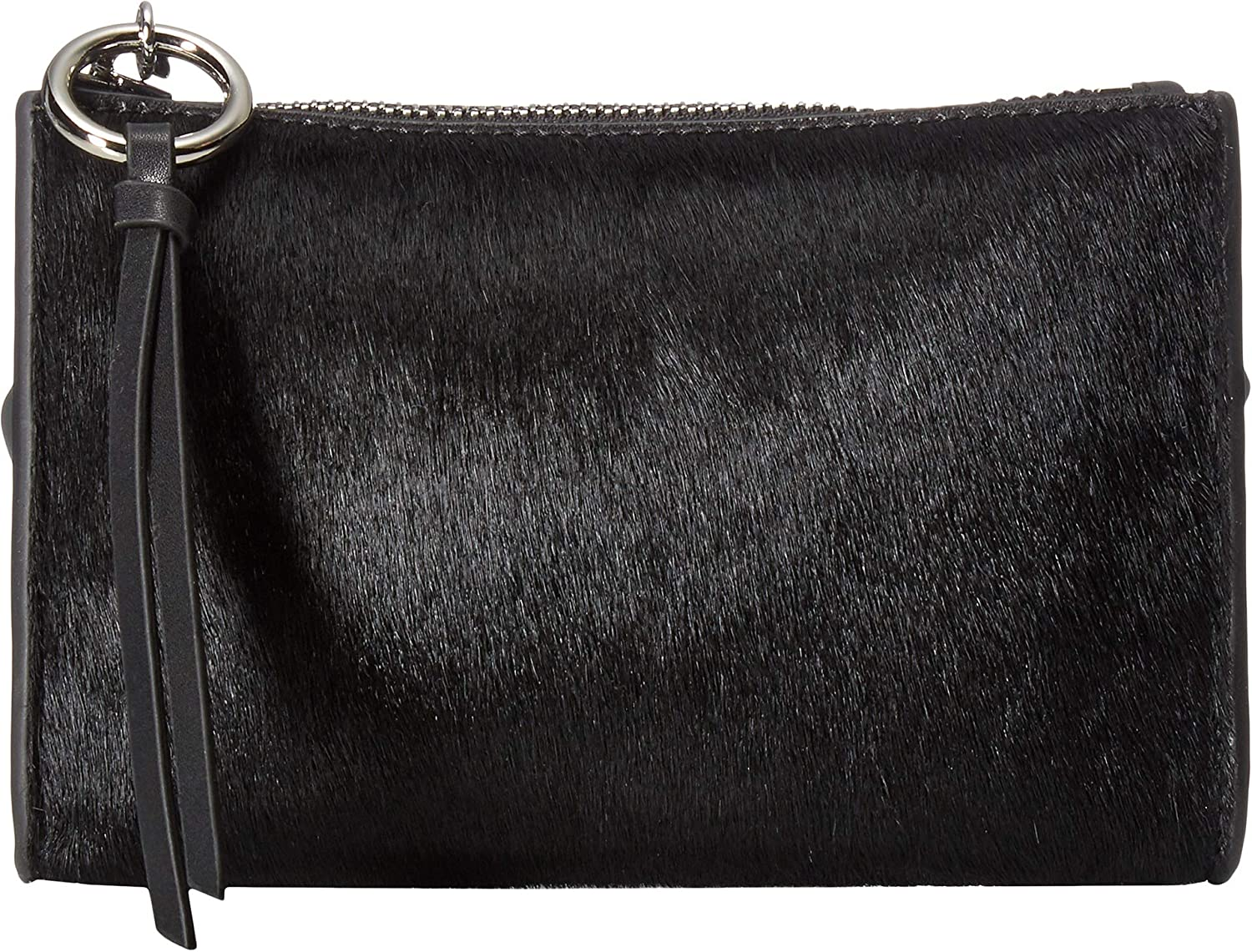 Rebecca Minkoff Women's 25 mm Exotic Belt Bag Black/Nickel MD