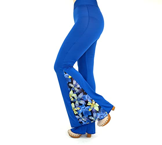 2c31f4f22980a Amazon.com  Floral bell bottoms