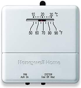 Honeywell Home CT31A1003 Heat/Cool Non-Programmable Thermostat -  Programmable Household Thermostats - Amazon.com  Amazon.com