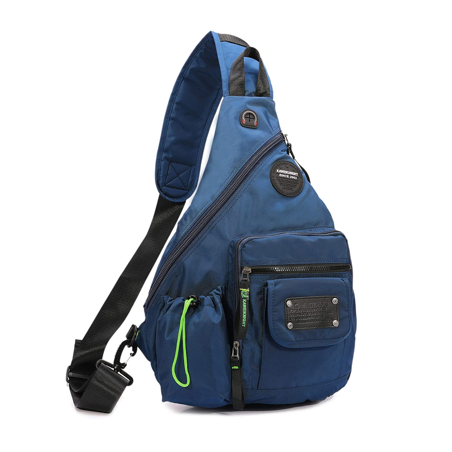 Amazon.com  DDDH 13.3-Inch Sling Bag Riding Hiking Bag Single Shoulder  Backpack for Men Women(Blue)  Sports   Outdoors 21a64082f3986