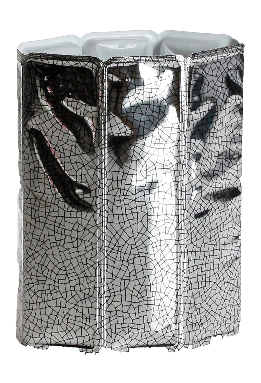 Vacu Vin Enfriador para botellas de vino color plata