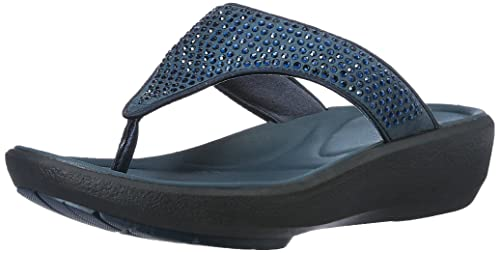 a978f4a14b8b Clarks Women s Wave Dazzle Blue Fashion Sandals - 6.5 UK India (40 ...