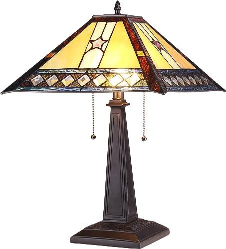 Chloe CH38847PM16-TL2 Tristan Table Lamp