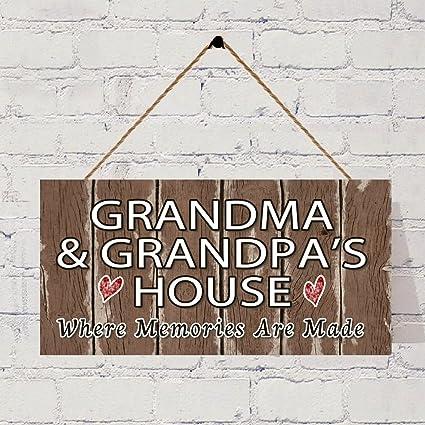 Marvelous Amazon Com Bevis554Yule Grandma And Grandpas House Sign Download Free Architecture Designs Philgrimeyleaguecom