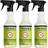 Mrs. Meyer's Clean Day Multi-Surface Everyday Cleaner, Cruelty Free Formula, Lemon Verbena Scent, 16 oz- Pack of 3