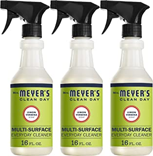 product image for Mrs. Meyer's Clean Day Multi-Surface Everyday Cleaner, Lemon Verbena, 16 fl oz, 3 ct
