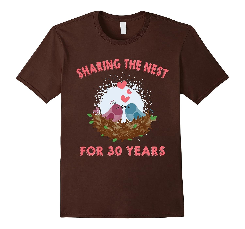 Husband Wife T-Shirt 30th Wedding Anniversary Gift Ideas ...