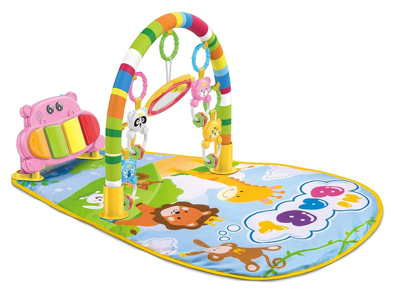 Teeny Poisson bébé Piano Tapis de tapis de jeu avec centre d\'activité, DE LA Musique et les Sons, 0–9mois 0-9mois Tenny Fish